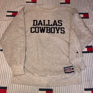 Vintage Dallas cowboys champion reverse weave